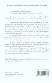 Madame Faites Comme Tout Le Monde - 4ème de couverture - Format classique