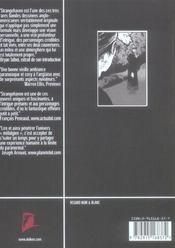 Strangehaven - tome 2 confrerie - 4ème de couverture - Format classique