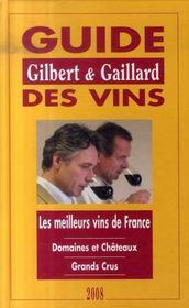 Guide Gilbert et Gaillard des vins (édition 2008) - Intérieur - Format classique