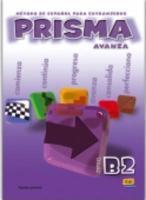 Prisma B2 Avanza Libro Del Alumno - Couverture - Format classique