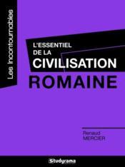 L'essentiel de la civilisation romaine - Couverture - Format classique