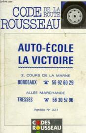 Code De La Route - Couverture - Format classique