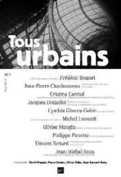 Revue Tous Urbains N.1 - Couverture - Format classique