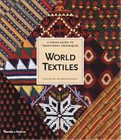 World Textiles /Anglais - Couverture - Format classique