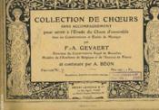 Collection De Choeurs - Couverture - Format classique