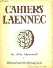 Cahiers Laennec - N°2 Juin 1947 Les Etats Intersexuels 1 + N°3 Octobre 1947 Les Etats Intersexuels 2 - Couverture - Format classique