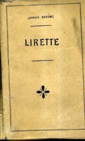 Lirette. - Couverture - Format classique