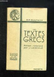 Textes Grecs 1e Et Philosophie - Couverture - Format classique