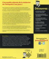 L'histoire de la médecine pour les nuls - 4ème de couverture - Format classique