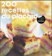 200 recettes du placard - Couverture - Format classique