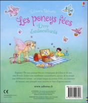 Les poneys fées - 4ème de couverture - Format classique