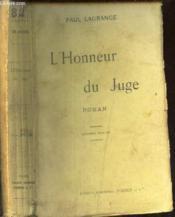 L'Honneur Du Juge - Couverture - Format classique