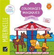 Coloriages magiques ; la fête - Couverture - Format classique