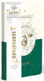 Harry Potter ; constellation ; carnet Serpentard - Couverture - Format classique