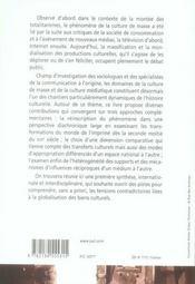 Culture de masse et culture médiatique en Europe et dans les Amériques, 1860-1940 - 4ème de couverture - Format classique