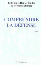 Comprendre La Defense ; 2e Edition - Intérieur - Format classique