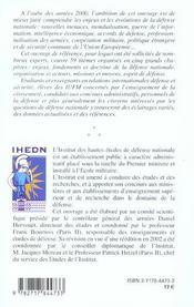 Comprendre La Defense ; 2e Edition - 4ème de couverture - Format classique