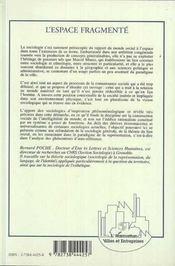 Pensee Faible De Vattimo Et Rovatti 1 Pensee Fable - 4ème de couverture - Format classique