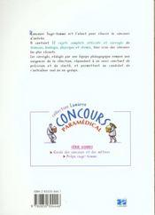 Concours Sage-Femme Sujets Officiels Corriges Annales - 4ème de couverture - Format classique