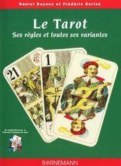 Tarot ses regles et toutes ses variantes - Intérieur - Format classique