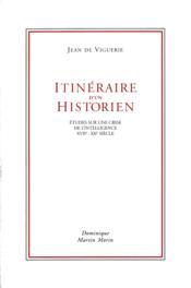 Itineraire d un historien - Couverture - Format classique