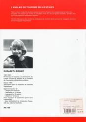 L'anglais du tourisme en 30 escales - 4ème de couverture - Format classique