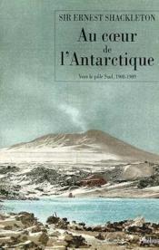 Au coeur de l antarctique - Couverture - Format classique