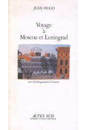 Voyage à Moscou et Leningrad - Couverture - Format classique