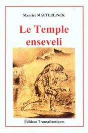 Le Temple Enseveli - Intérieur - Format classique