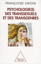 Psychologie(s) des transsexuels et des transgenres - Couverture - Format classique