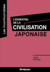 L'essentiel de la civilisation japonaise - Couverture - Format classique