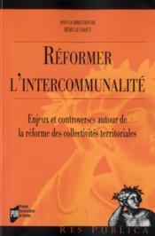 Réformer l'intercommunalité - Couverture - Format classique