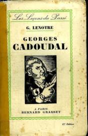 Georges Cadoual. - Couverture - Format classique