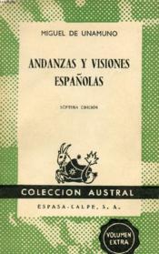 Andanzas Y Visiones Españolas, Colección Austral, N° 160 - Couverture - Format classique