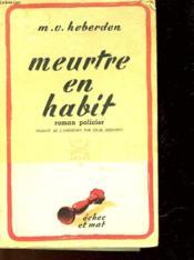 Meurtre En Habit - Murder Of A Stuffed Shirt - Couverture - Format classique