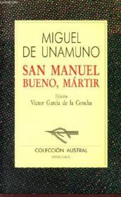 San Manuel Bueno, Marti - Couverture - Format classique