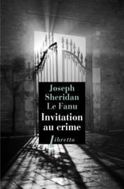 Invitation au crime - Couverture - Format classique