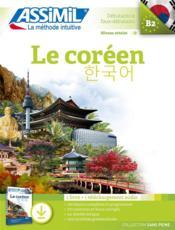 Le coréen ; B2 - Couverture - Format classique