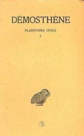 Plaidoyers civils t.1 - Couverture - Format classique