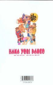 Hana yori dango t.4 - 4ème de couverture - Format classique