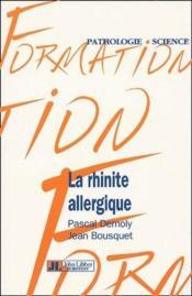 La rhinite allergique - Couverture - Format classique