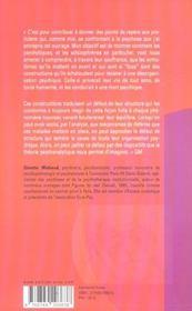 Essais sur la schizophrénie et le traitement des psychoses t.1 ; l'impossible réalité - 4ème de couverture - Format classique