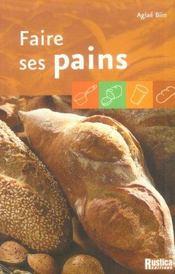 Faire Ses Pains - Intérieur - Format classique