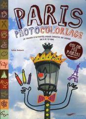 Paris photocoloriage - Intérieur - Format classique