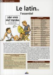 telecharger Le latin t.1 – l'essentiel livre PDF/ePUB en ligne gratuit