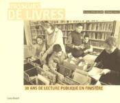 Passeurs de livres ; 30 ans de lecture publique en Finistère - Couverture - Format classique