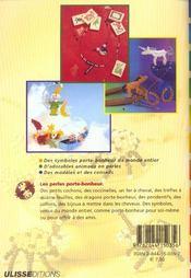 Porte-Bonheur En Perles - 4ème de couverture - Format classique