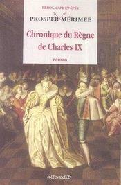 Chronique du règne de charles IX - Intérieur - Format classique