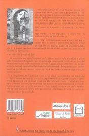 Goutelas par lui-même. mémoire intime d'une renaissance - 4ème de couverture - Format classique