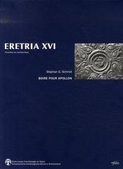 Revue Eretria T.16 ; Boire Pour Apollon - Intérieur - Format classique